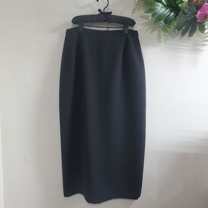 BOGO Sale! Vintage Michele black Maxi Skirt size 10